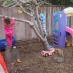 Outdoor Climbing and Play Area
